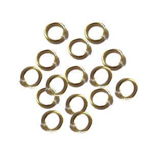 Gold Jump & Split Rings