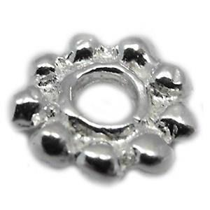 Sterling Daisy Spacers