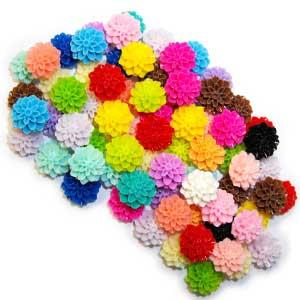 Cabochons & Flowers