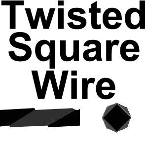 Twisted Square Wire